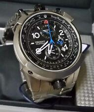 Orient Flytech Aviator MBTTC008 P2GX FULL TITANIUM BULLHEAD Chronograph WR 100m
