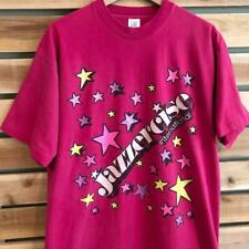 Vtg 90s Jazzercise Graphic Print Exercise Pop Culture Single Stitch T Shirt Xl