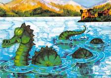 uk1670 nessie the loch ness monster real photo uk