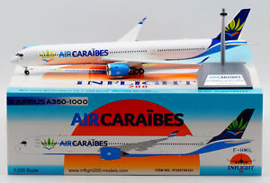 INFLIGHT 1:200 AIR CARAIBES Airbus A350-1000 Diecast Aircraft Jet Model F-HMIL