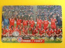 M12/2003 Auflage 2000 Stück Fussball FC Bayern Deutsche Meisterschaft 1986/1987
