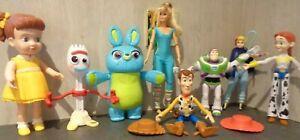 Large Bundle Toy Story Figures Toys Talking Bo Peep Forky Gabby Gabby Barbie