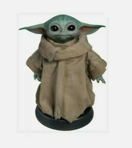 Star Wars Mandalorian The Child Grogu Baby Yoda LifeSize Sideshow statue 1:1 NIB