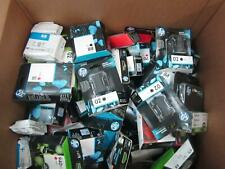 HP LOT OF 100 CARTRIDGES, ALL EXPIRED,  HALF COLOR / HALF BLACK