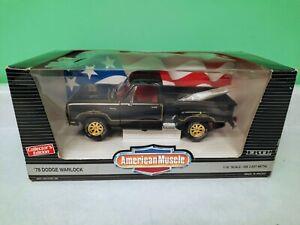 American Muscle Ertl 1978 Dodge Warlock Collectors Edition  1:18 Scale