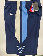 Villanova Wildcats NCAA Nike Dri Fit Mens Shorts Long Navy NWT Small, Medium