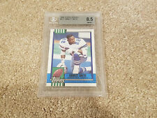 1990 Topps Traded #27t Emmitt Smith Dallas Cowboys RC BGS 8.5