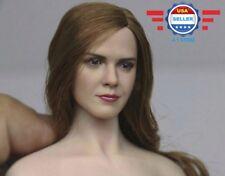 1/6 Emma Watson Head Sculpt Harry Potter Hermione for SUNTAN Phicen