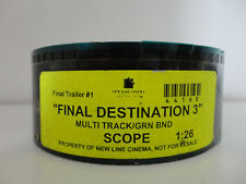Final Destination 3 2006 35mm movie trailer #1 collectible cells Scope 1:26min