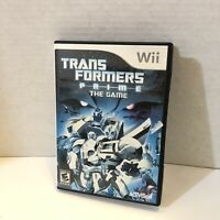 Transformers Prime: The Game for Nintendo Wii & Wii U Complete w/ Manual - Prime
