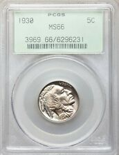 1930 P PCGS MS66 Buffalo Indian Head Nickel Attractive GEM BU Uncirculated OGH