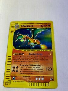 Pokemon Charizard Expedition Holo 6/165 Played