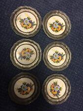 Vintage M. Schwyzer Lucerne Pewter 6-Piece Coaster Set