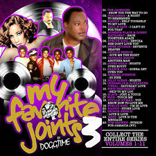 My Favorite Joints Vol 3 Old School Mix Edition Mixtape CD