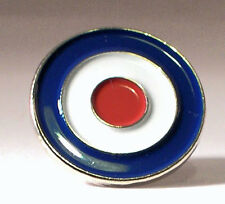 Metal Enamel Pin Badge Brooch RAF Royal Air Force Roundal Circle Logo
