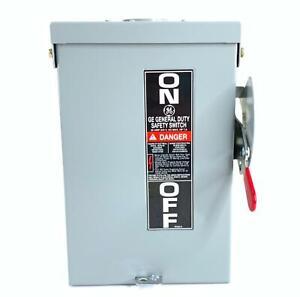 GE TG4321R Safety Switch 30 Amp 240 VAC 250 VDC 3 Pole