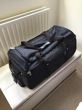 Mulberry Albany Duffle Travel Bag with Leather Handles inc. Mulberry Tag Padlock