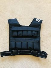 Power Star Crossfit weighted vest 10kg fitness vest training. Excellent Cond