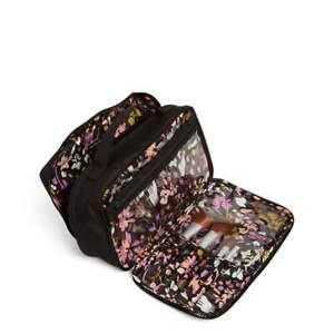 VERA BRADLEY New $60 Lighten Up Large Blush & Brush Makeup Organizer Case Bag