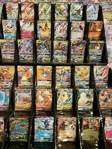 150 Pokemon Cards Bundle Bulk Lot - 1 Ultra Rare GX, EX or V & 20 Holos / Rares