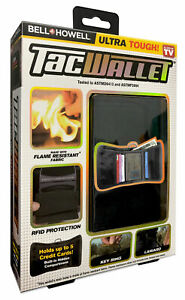Bell+Howell Tac Wallet RFID Protection Technology Flame Resistant, As Seen On TV