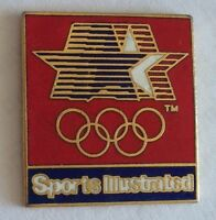 Sports Illustrated USA Olympic Team Advertising Sponsor Pin Badge No Clasp (F3)