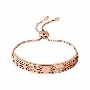 LINKS OF LONDON Timeless Engravable Rose Gold Vermeil Bracelet RRP425 NEW