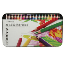 WHSmith Artist's Colouring Pencils Pack of 36 For Dry Mixing And Blending