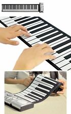 61 Keys Flexible Foldable Soft Portable Electric Digital Roll up Keyboard Piano