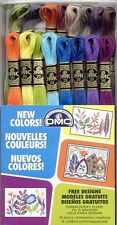 DMC Embroidery Floss Pack New Colors 8.7 Yards 16/Pkg