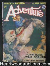 Adventure Jun  1939 Murray Leinster, Walt Coburn