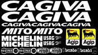 Sticker Aufkleber Set passend Cagiva Mito 125 50 Evo Verkleidung