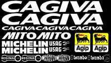 Sticker Decal set fits Cagiva mito 125 50 evo fairing