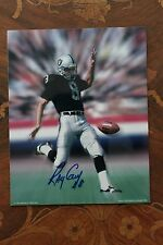 RAY GUY AUTOGRAPHED 8x10 signed Photo HOF Oakland Raiders Super Bowl XI XV XVIII