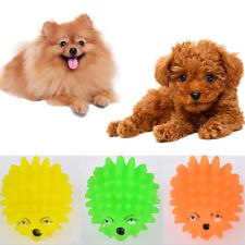 Fashion Squeaker Ball Toys Cute Hedgehog Pet Dog Puppy Squeaky Chew Toy Supplies