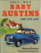 Austin A30 A35 A40 Postwar Baby Austins by Sharratt Development Racing Rallying
