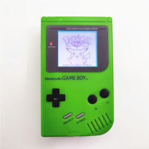 Refurbished Apple Green Nintendo Game Boy Original DMG-01 Backlit LCD Console