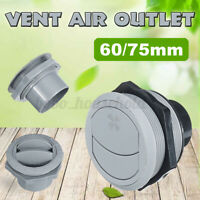 60/75mm Round Air Outlet Vent For RV Bus Boat Yacht Air Conditioner  UK UK!