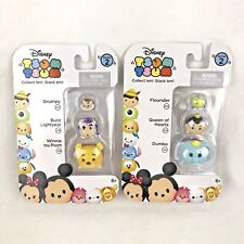 Disney TSUM TSUM 3 Pack Series 2 Mini Toy Figures Winnie the Pooh NEW Lot of 2