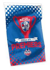 2016 Premiers Premiership AFL Western Bulldogs Cape Wall Flag Man Cave Afl16489a