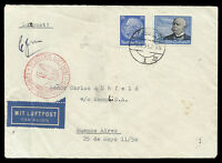 GERMANY to ARGENTINA air cover 1939 - VF