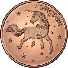 Unicorn    1oz .999 copper round