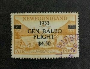 Newfoundland Stamp #C18 Used