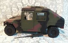 "RARE Large 21"" Long 21st Century Toys US Army Camo Humvee Jeep Vehicle 1/6 Scale"