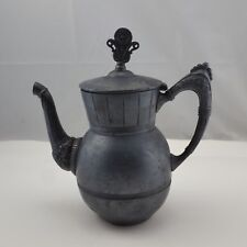 Antique Teapot The Hard White Metal Co Triple Silver Plate Silverplate c 1886