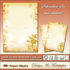 Briefpapier - Motiv -VOGELSCHEUCHE- 20 Blatt DIN A4