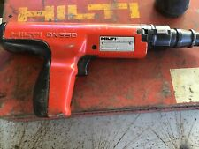 HILTI DX350 Powder-Actuated 0.27 Caliber Fastening Tool w/ Case