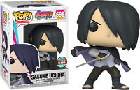 Sasuke Uchiha with Missing Arm Boruto Naruto Funko Pop Vinyl New in Box
