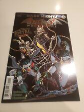The Batman Who Laughs #1 Dark Nights Metal Tie-In Foil Cover 1st Print