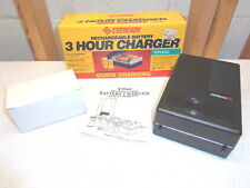 EVEREADY 3 Hour Rechargeable Battery Charger~Model QCC4-PA~NOS!